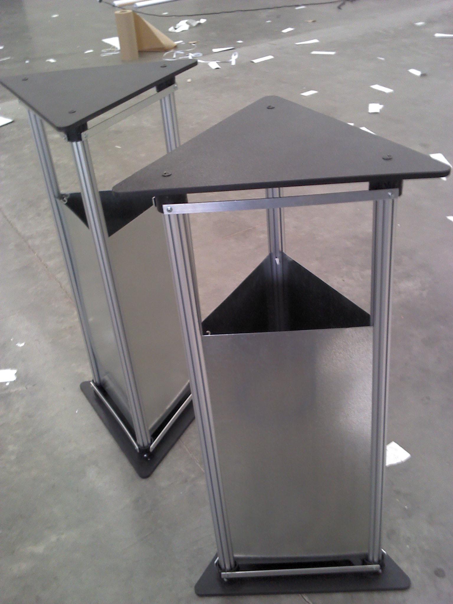 Mobiliario letreros y carteles luminosos se alizaci n exhibidores acr lico tijuana - Perfiles de aluminio para muebles ...